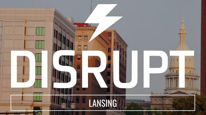DisruptHR Lansing Logo